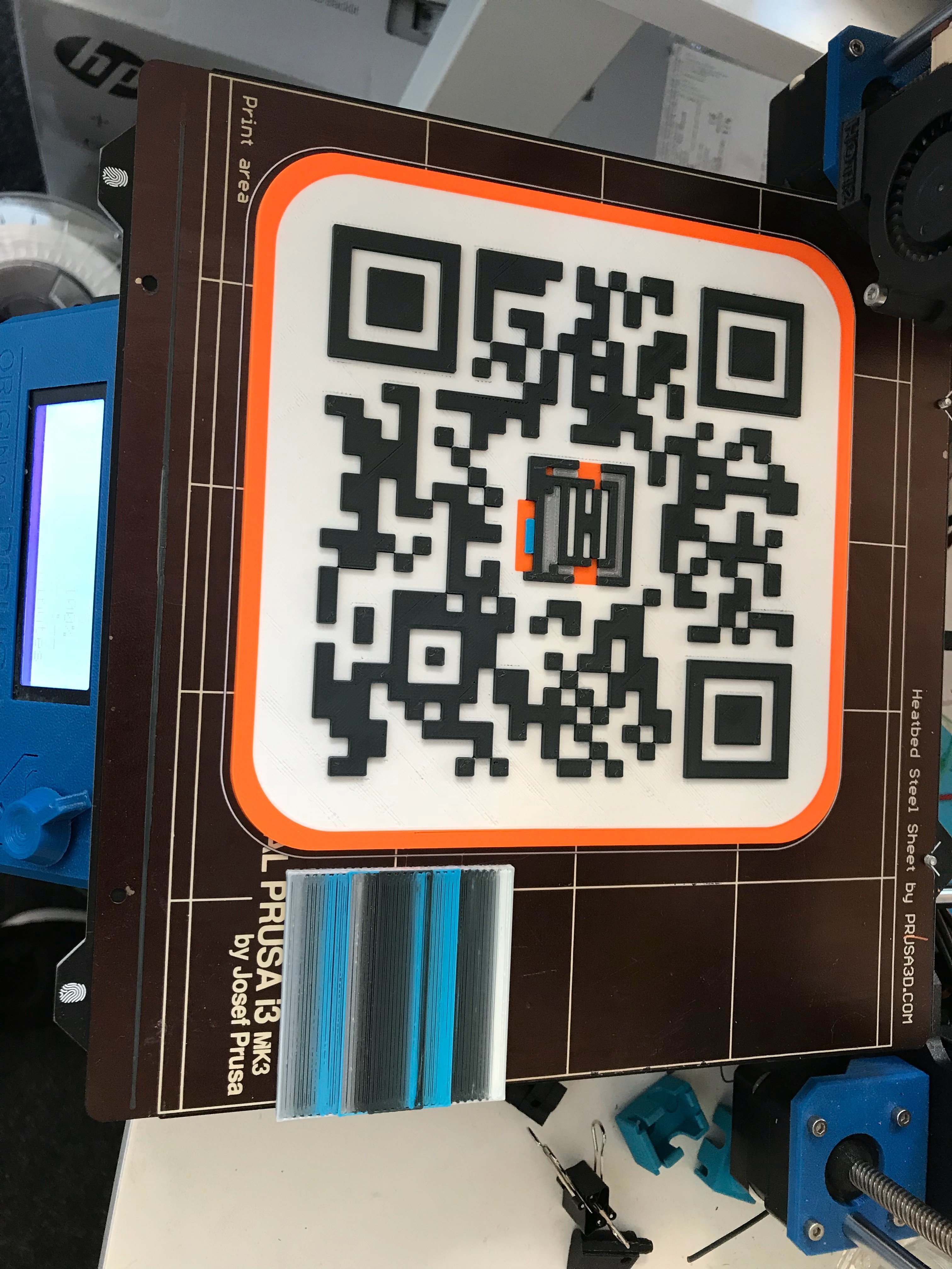 Image from iOS (11).jpg Download STL file MMU QR code • 3D printing object, DoubekDesign