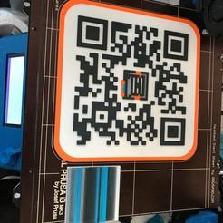 Modelos 3D para imprimir Código QR MMU, FoxD