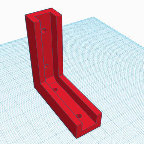 Free 3D printer designs Shelf Support, santiobi