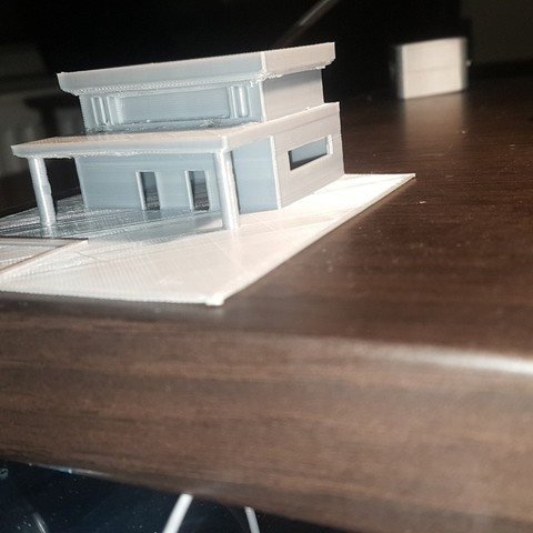 Snapchat-218606137[1].jpg Download free STL file model house 1/100 house • 3D printing model, heddi