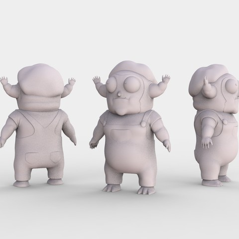 MORTY_JR_R_AND_M.80.jpg Download free STL file Morty Jr Rick and Morty • Template to 3D print, ismael_jiso