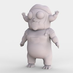 MORTY_JR_R_AND_M.78.jpg Télécharger fichier STL gratuit Morty Jr Rick et Morty • Design pour impression 3D, ismael_jiso