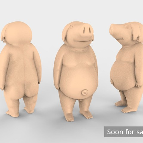 Hawk_Human_for_sale.jpg Download free STL file Hawk Nanatsu NT • 3D printer template, ismael_jiso
