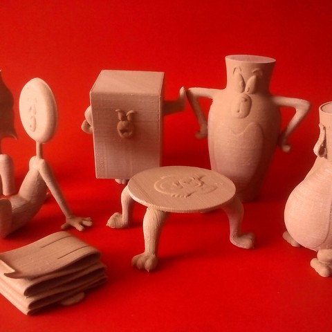3D printer models Tom and Jerry, Tom Collection, ismael_jiso
