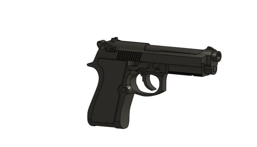 Gun.JPG Download free STL file USB case 2 • 3D print model, Hectdiaf