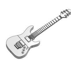 guitar.JPG Download free STL file USB case 1 • Object to 3D print, Hectdiaf