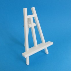 Download 3D printing models Miniature Easel, inProgressDesigns