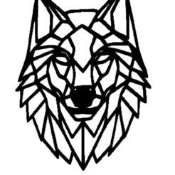 loupnoir.jpg Télécharger fichier STL loup,noir • Design pour impression 3D, jenemorel
