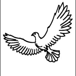 coloriage-colombe-16.png Télécharger fichier STL comoriage,colombe • Modèle à imprimer en 3D, jenemorel