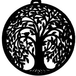 arbre ront avec oiseau.png Télécharger fichier STL arbre,ront,avec,oiseau • Plan pour impression 3D, jenemorel