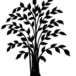 arbres feuilles.jpg Télécharger fichier STL arbre ,feuilles • Modèle pour imprimante 3D, jenemorel