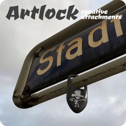 Télécharger fichier STL ARTLOCK - pièces jointes créatives • Design pour imprimante 3D, vectorplanet