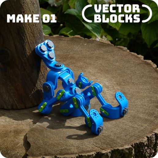 Download 3D printing designs VECTORBLOCKS Mechanical Construction Set, vectorplanet