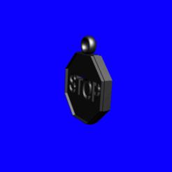 Download 3D print files Stop Pendant, fraisoux3000