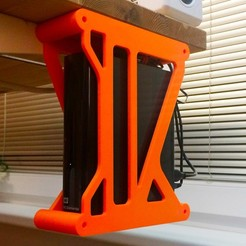 Download free 3D printer designs External WD disk holder, yarousch