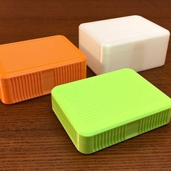 simple-box-1.jpg Download STL file Simple Box 125x90x30/45/60 mm • 3D printer design, yarousch