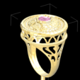 STL RING 3D JEWELLERY MODEL 3D, Medesign