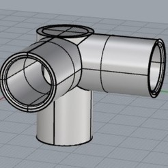Free STL files assembly for 16 mm tubes, triskeltriskel09