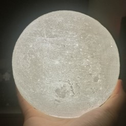 Download free 3D print files Glowing Moon, Brandonzhun