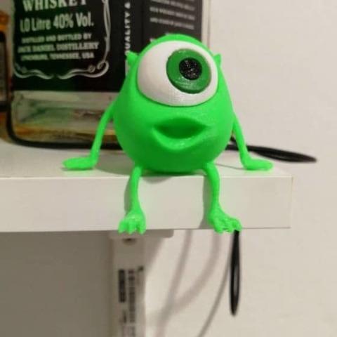 Download free 3D printer designs Little Mike Wazowski, Brandonzhun