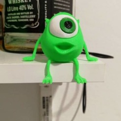 Free STL files Little Mike Wazowski, Brandonzhun