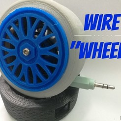 Free 3d printer files Wire wheel, Brandonzhun