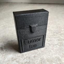 IMG_20201103_105225.jpg Télécharger fichier STL Boite/étuis pour cigarettes / cigarillos Personnalisable • Objet imprimable en 3D, SNG06
