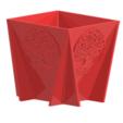 Flowerpot1.PNG Télécharger fichier STL POT DE FLEUR AVEC ARBRE DE VIE • Modèle imprimable en 3D, SNG06