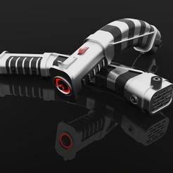 Impresiones 3D Sables de luz Asajj Ventress - STAR WARS 3D PRINT MODELO, LigonAP