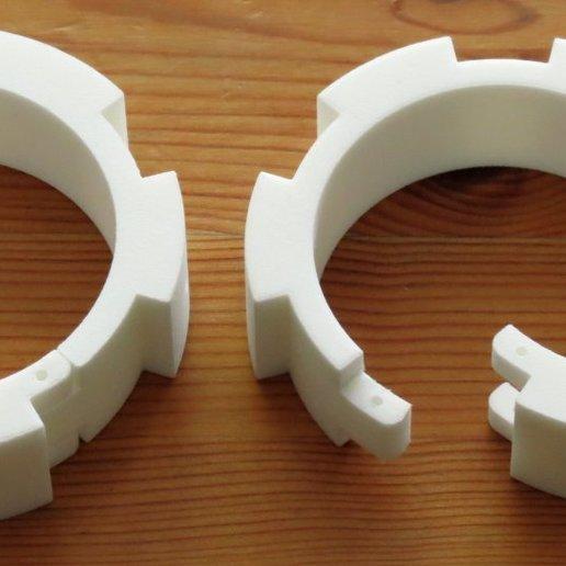 Download 3D Printer Model Imperial Binders (Handcuffs