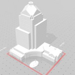 stl file 3D Building, waravila