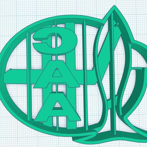 Aldosivi.jpg Download STL file Cookies Cutter,Club Atletico Aldosivi,Cookie Cutter Club Atletico Aldosivi • Design to 3D print, diegox484