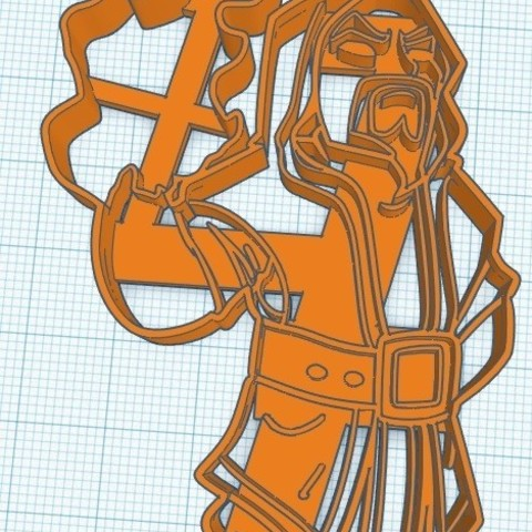 Clash Royale Mago Cookie Cutter