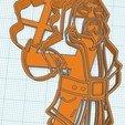 ClashRoyale-Mago.jpg Download STL file Clash Royale Mago Cookie Cutter • 3D print model, diegox484