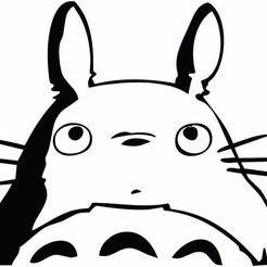 Télécharger plan imprimante 3D Pendentif Totoro Deux Couleurs, diegox484