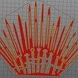 Impresiones 3D GAME OF THRONES COLGANTE DECORATIVO, diegox484