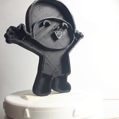 3d printer designs Pocoyo Feliz cortante de galletitas cookie cutter, diegox484