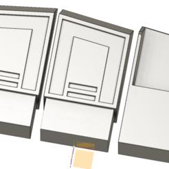 ammo box clone v5.png Download STL file Clonetrooper belt ammo box • 3D print template, HaarGoran