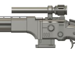 W38 ... v30.png Download STL file HG W38 Volcanic blaster Star Wars • Model to 3D print, HaarGoran