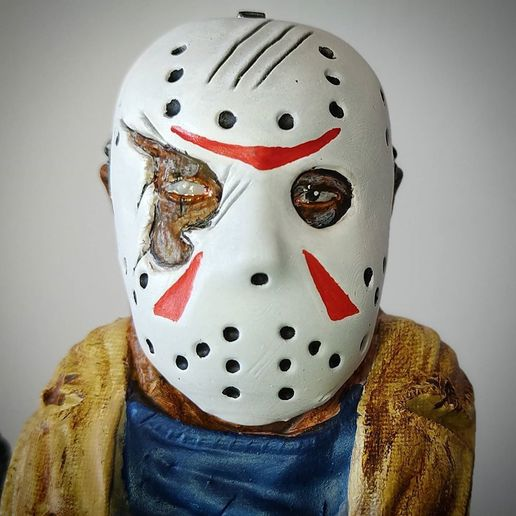 live3dprintspt_124020373_4762567483816283_5101974982347639092_n.jpg Download STL file Jason Voorhees: Bust for 3D printing • 3D printable model, AntonioPugliese