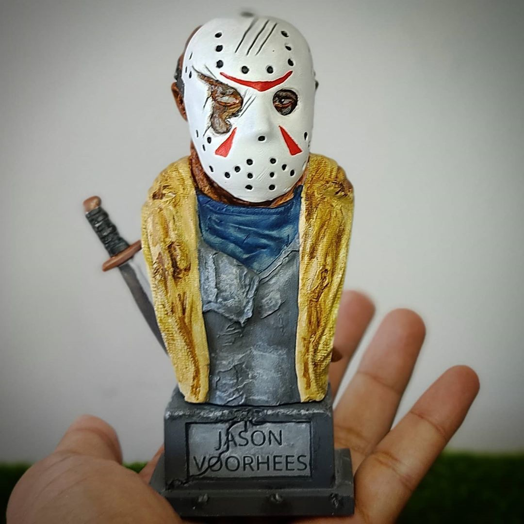 live3dprintspt_123977569_1074935779616656_7132051066436970984_n.jpg Download STL file Jason Voorhees: Bust for 3D printing • 3D printable model, AntonioPugliese