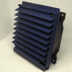 windowfan2.png Télécharger fichier STL gratuit Ventilateur de fenêtre automatique • Objet pour impression 3D, 3D_Printery_