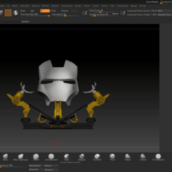 96239569_552650758726566_462517834036019200_n.png Télécharger fichier STL Iron Man Mark 2 Façade 1:1 • Plan pour impression 3D, shadow_dragon3000