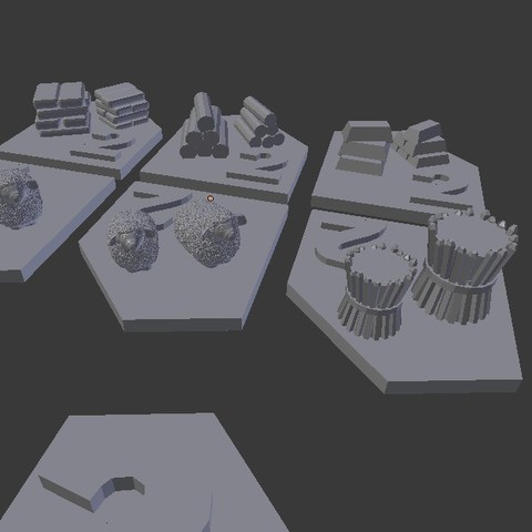 catan_ports_display_large.jpg Download free STL file Catan Ports • 3D print object, stockto