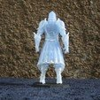 Download free 3D printer templates Armored Warrior (multiple poses), stockto