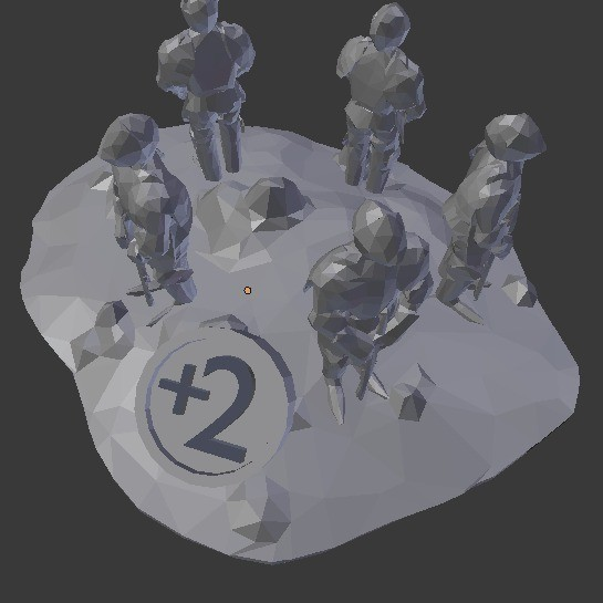 LargestArmyTrophy_display_large.jpg Download free STL file Catan Largest Army Trophy • 3D print model, stockto