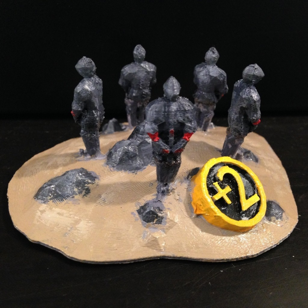 LargestArmy_display_large.JPG Download free STL file Catan Largest Army Trophy • 3D print model, stockto