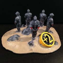 Download free 3D printing models Catan Largest Army Trophy, stockto