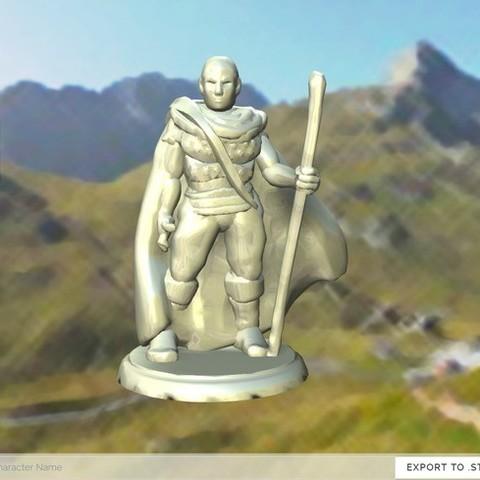 9fd022675fcce5aa89dd5aca440d4f12_display_large.jpg Télécharger fichier STL gratuit Voyageur masqué • Design pour imprimante 3D, stockto