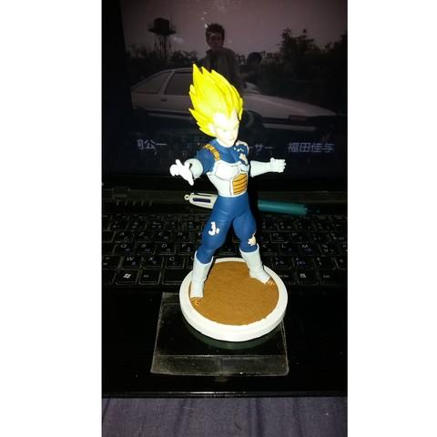 Free 3D printer files Vegeta Dragon Ball Z, Bunta_impreza